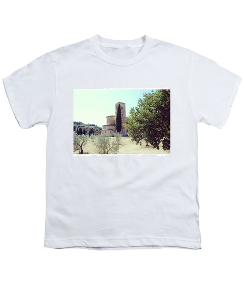 Abbey Of Sant'antimo Youth T-Shirt