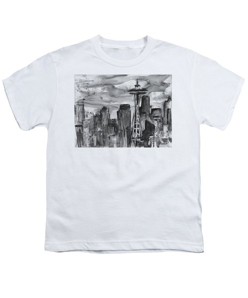 Seattle Skyline Space Needle Youth T-Shirt
