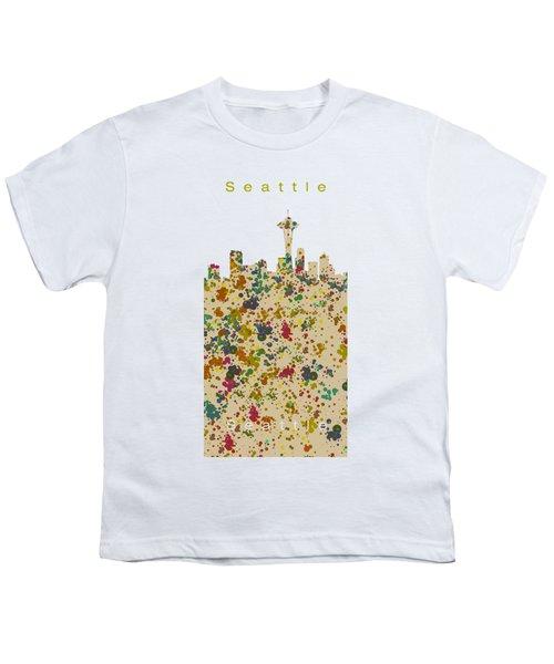 Seattle Skyline.2 Youth T-Shirt