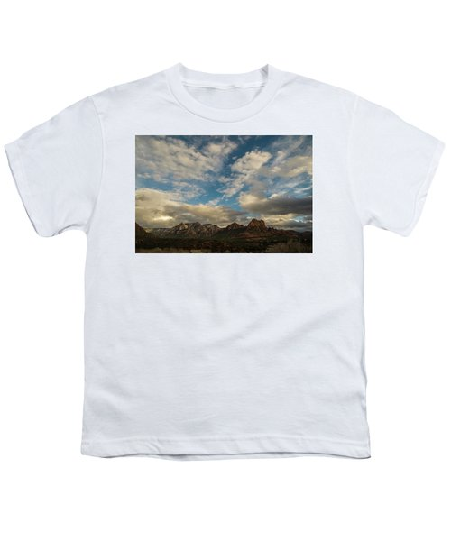 Sedona Arizona Redrock Country Landscape Fx1 Youth T-Shirt by David Haskett