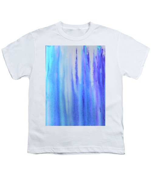 See Blue Sea Youth T-Shirt by Cyrionna The Cyerial Artist