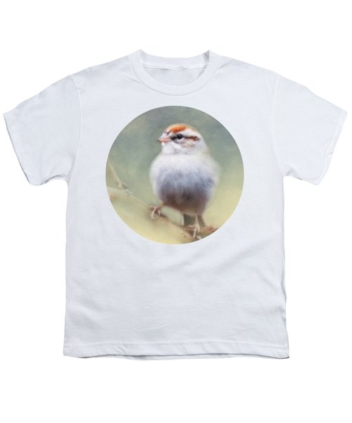 Serendipitous Sparrow  Youth T-Shirt by Anita Faye