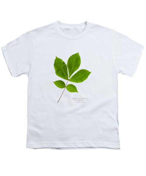 Youth T-Shirt featuring the photograph Shagbark Hickory by Christina Rollo