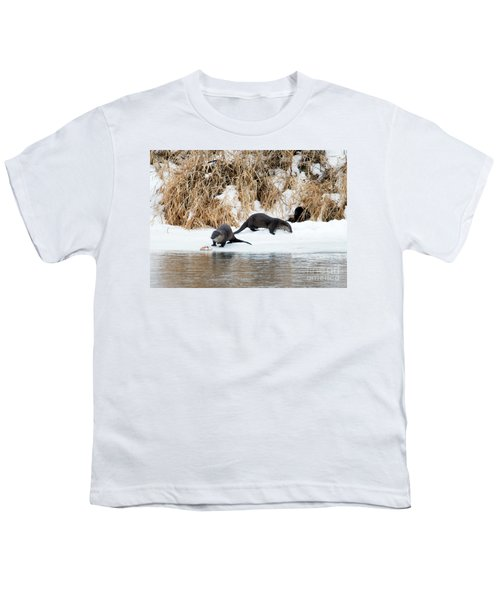 Sharing A Meal Youth T-Shirt