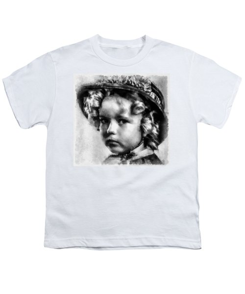 Shirley Temple Vintage Actress Youth T-Shirt
