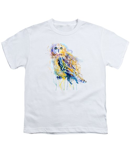 Short Eared Owl  Youth T-Shirt
