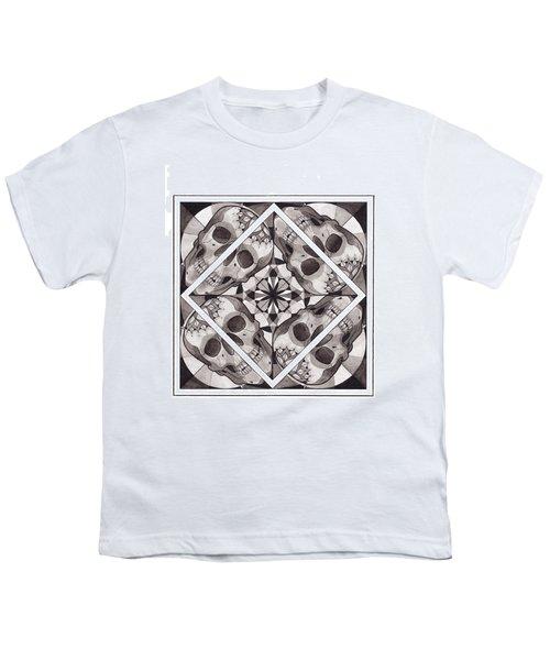 Skull Mandala Series Number Two Youth T-Shirt