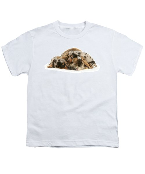 Sleep In Camouflage Youth T-Shirt