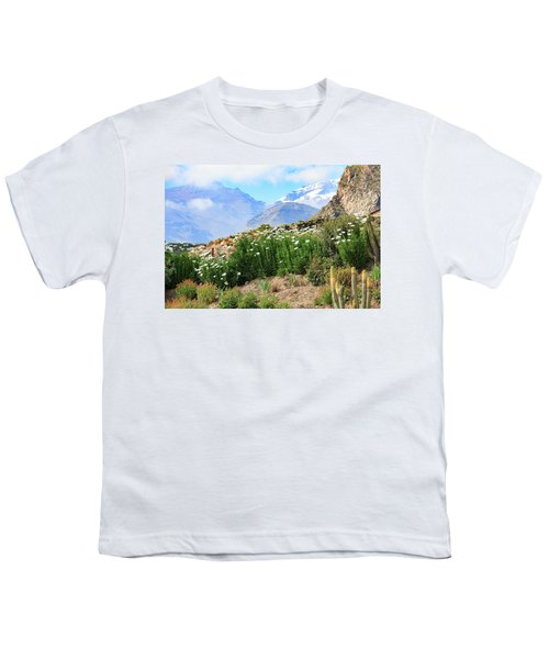 Youth T-Shirt featuring the photograph Snow In The Desert by David Chandler