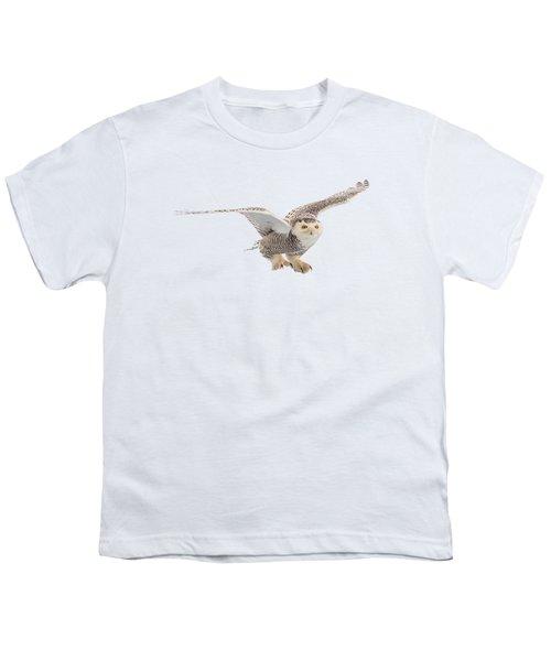 Snowy Owl T-shirt Mug Graphic Youth T-Shirt