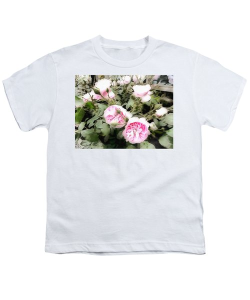 Soft Pink Bliss Youth T-Shirt