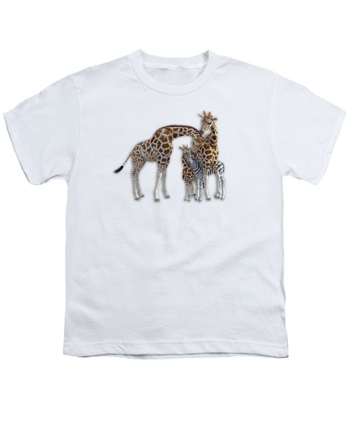 Sometimes You Have To Find The Right Spot To Fit In Youth T-Shirt by Betsy Knapp