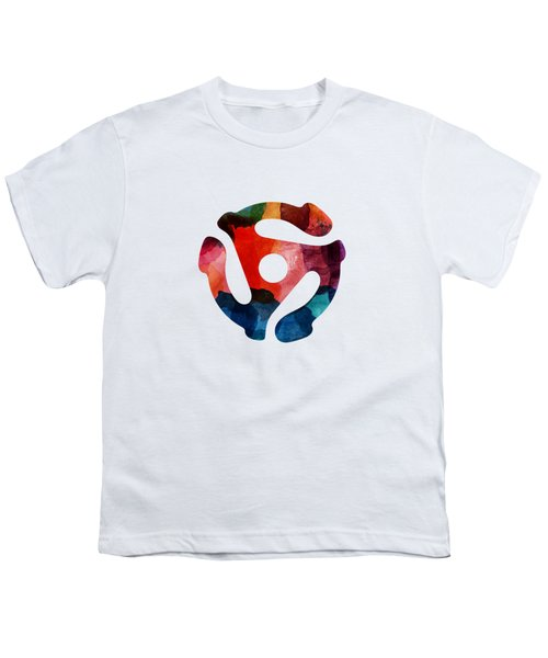 Spinning 45- Art By Linda Woods Youth T-Shirt