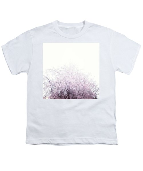 #spring #flowers #tree #college #pink Youth T-Shirt