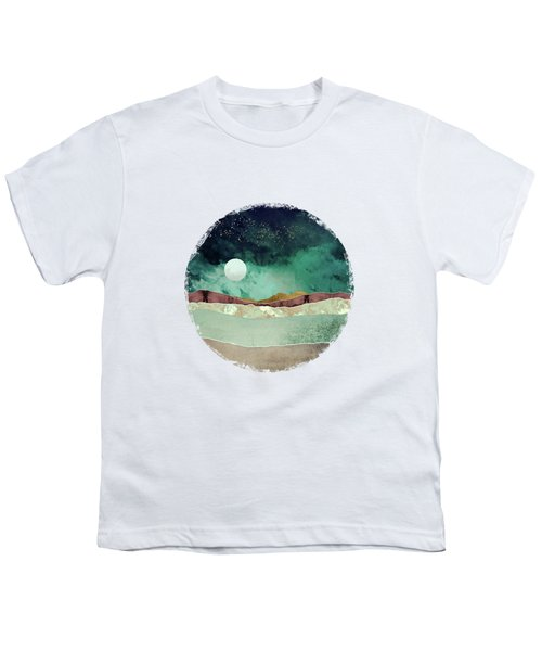 Spring Night Youth T-Shirt by Katherine Smit