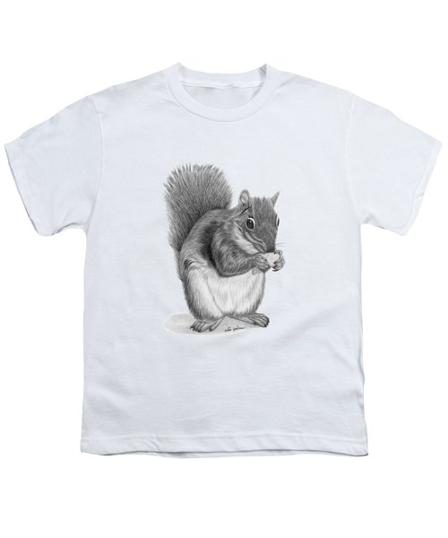 Squirrel #2 Youth T-Shirt by Rita Palmer