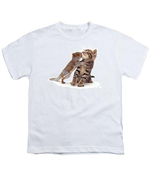 Squirrel Kiss Youth T-Shirt