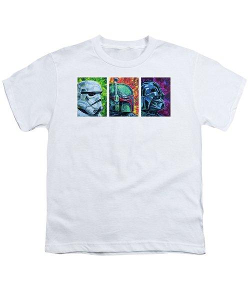Star Wars Helmet Series - Triptych Youth T-Shirt