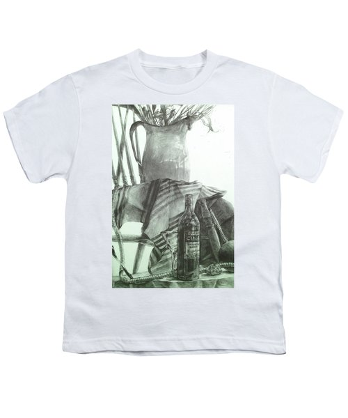 Still Life Youth T-Shirt by Roro Rop