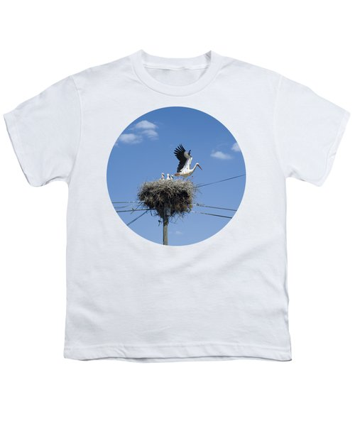 Storks Nest Alentejo Youth T-Shirt by Mikehoward Photography