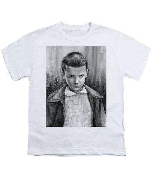 Stranger Things Fan Art Eleven Youth T-Shirt