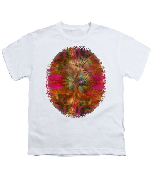 Strawberry Fields Abstract Youth T-Shirt by Sharon and Renee Lozen