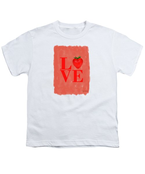 Strawberry Youth T-Shirt by Mark Rogan