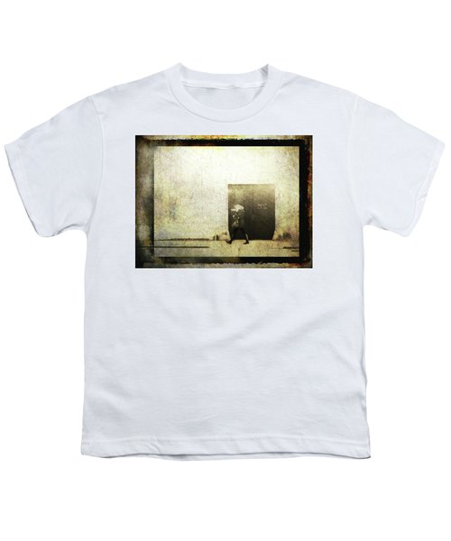 Street Photography - Closed Door Youth T-Shirt by Siegfried Ferlin