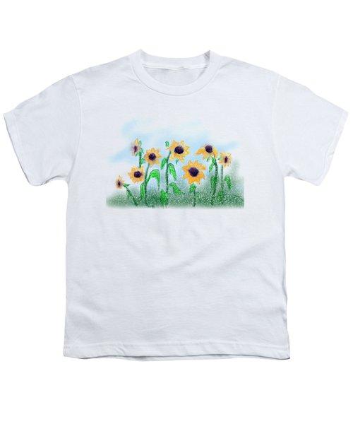 Sunflowers Youth T-Shirt