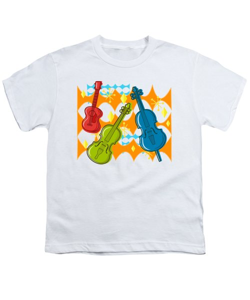 Sunny Grappelli String Jazz Trio Composition Youth T-Shirt