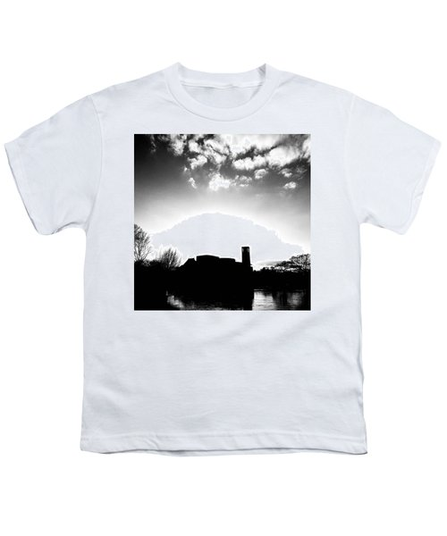 Sunset Over The Royal Shakespeare Company. Youth T-Shirt