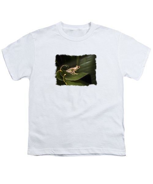 Surfing The Wave Bordered Youth T-Shirt