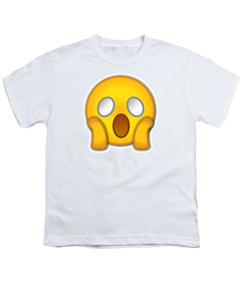 Surpriesd Smiley Youth T-Shirt