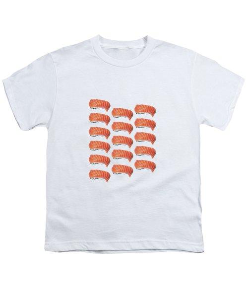 Sushi T-shirt Youth T-Shirt by Edward Fielding