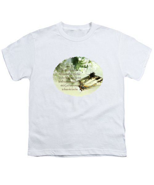 Swallowtail And Lilac Youth T-Shirt