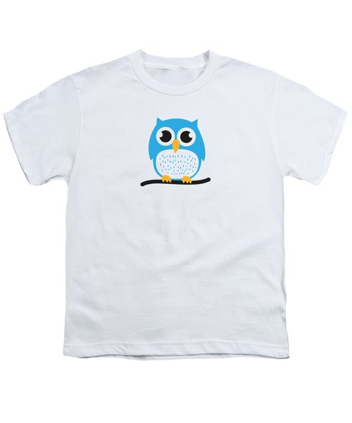 Sweet And Cute Owl Youth T-Shirt