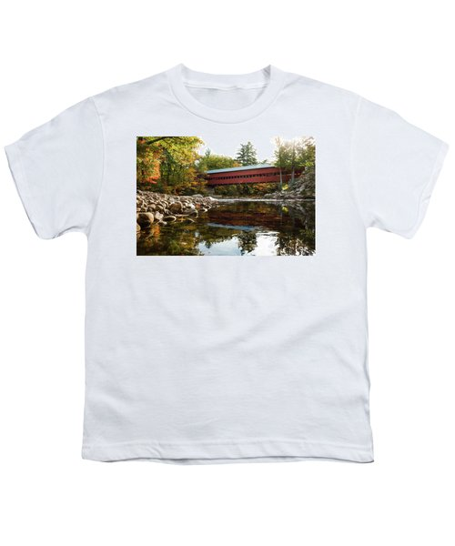 Swift River Covered Bridge Youth T-Shirt