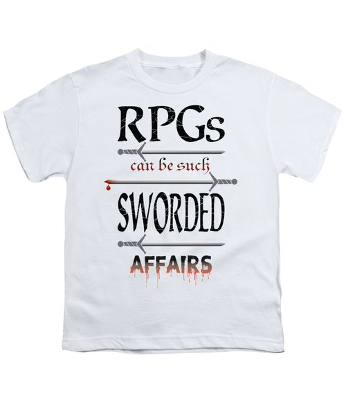 Sworded Affairs Light Youth T-Shirt