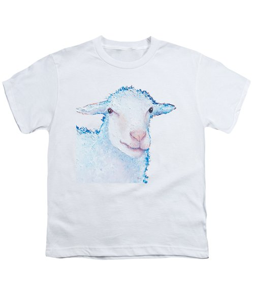 T-shirt With Sheep Design Youth T-Shirt by Jan Matson