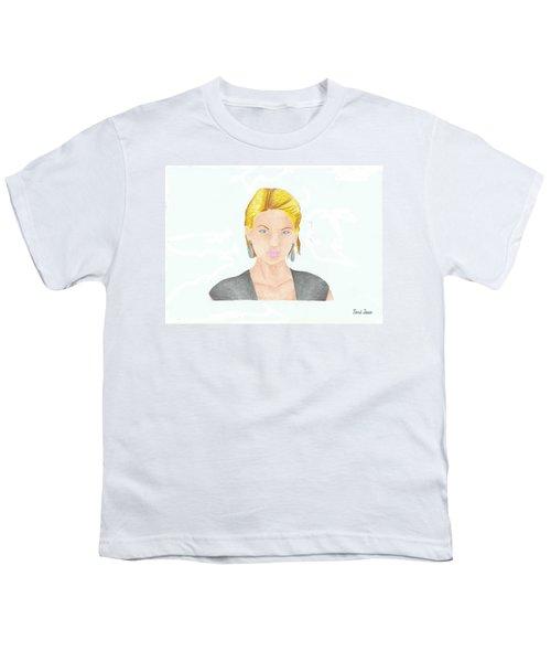 Taylor Swift Youth T-Shirt by Toni Jaso