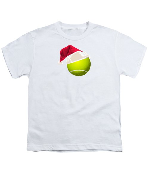 Tennis Christmas Gifts Youth T-Shirt by MGdezigns