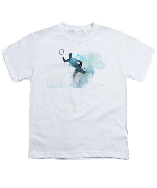 Tennis Player -19 Youth T-Shirt