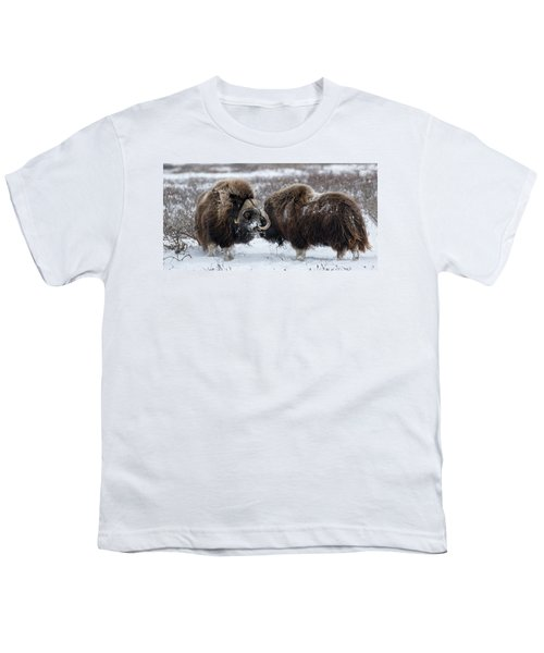 The Face Off  Youth T-Shirt