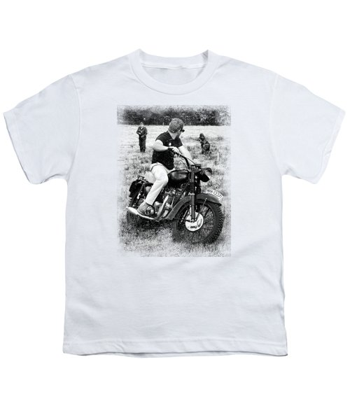 The Great Escape Youth T-Shirt by Mark Rogan