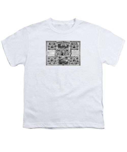 The Great National Memorial Youth T-Shirt by War Is Hell Store