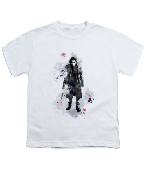 The Joker Youth T-Shirt by Marlene Watson