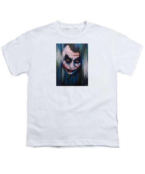 The Joker Youth T-Shirt by Michael Walden
