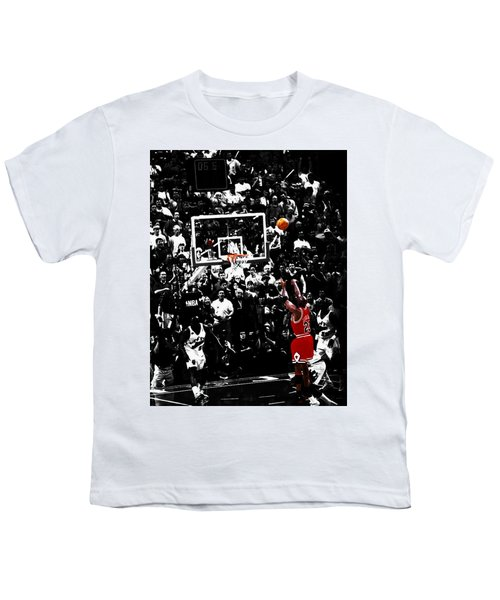 The Last Shot 23 Youth T-Shirt by Brian Reaves