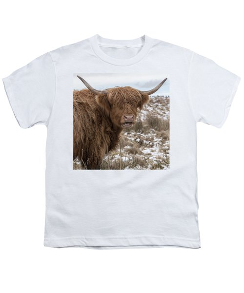 The Laughing Cow, Scottish Version Youth T-Shirt