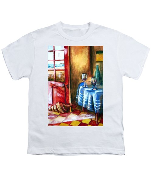The Mystery Room Youth T-Shirt by Winsome Gunning